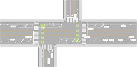 bike intersection design seattle streets illustrated