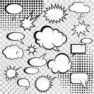 comic speech bubbles graphicriver With comic strip bubble template