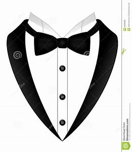 Tuxedo With Tie Clipart - Clipart Suggest