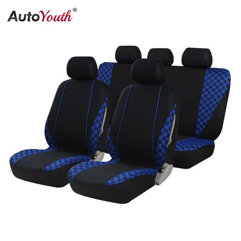 automobiles seat covers full set jacquard car seat cover universal   cars fiat punto ford
