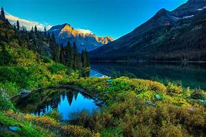 Nature, Mountain, River, Landscape, Wallpapers, Hd, Desktop