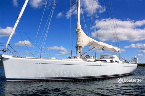 Boatsetter Boston by Rent A 1996 49 Ft Custom Dubois 49 In Boston Ma On