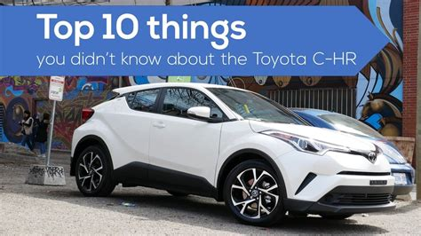 Top 10 Things About The #toyota Chr Crossover  Suv Download