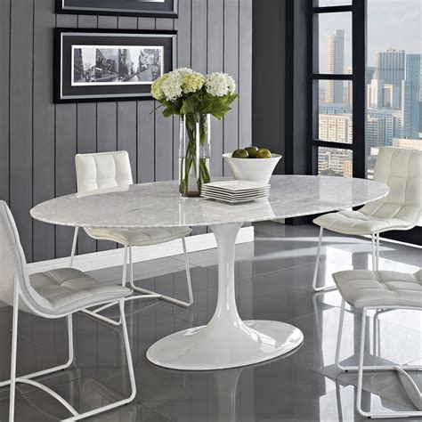 White Table by 30 Eyecatching Dining Room Tables Design Ideas For