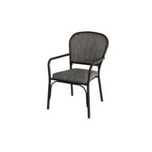 hton bay andrews sling stack patio arm chair 2 pack
