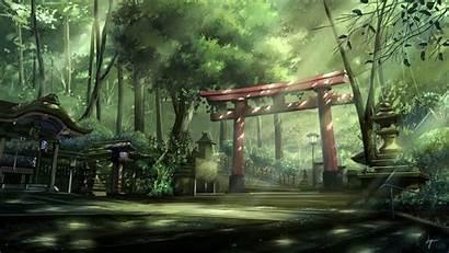 Japanese Animation Anime Background