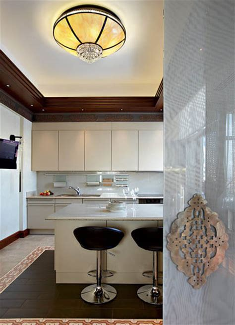 arabic decor motifs  modern interior design luxurious