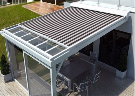 Motorized Remote Control Home Used Skylight Awning