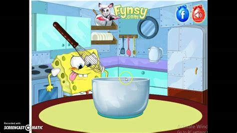 spongebob cuisine spongebob cooking