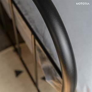 Metallbett Schwarz 90x200 : avos eisenbett metallbett 90x200 cm im retro stil notoria ~ Cokemachineaccidents.com Haus und Dekorationen