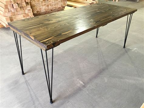dining table legs hairpin tables emmorworks