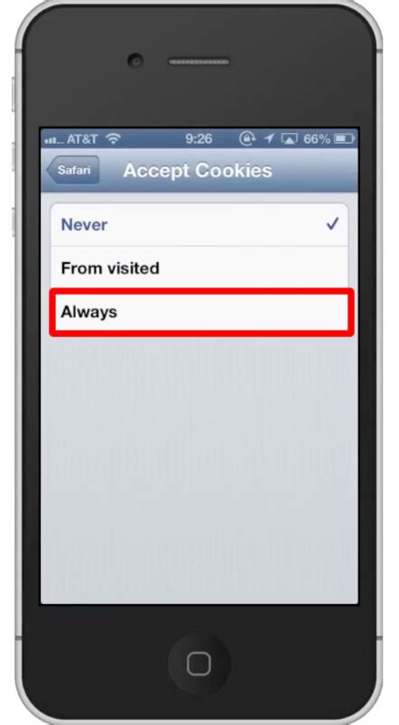 enable cookies on iphone how to enable cookies on iphone howtech Enabl