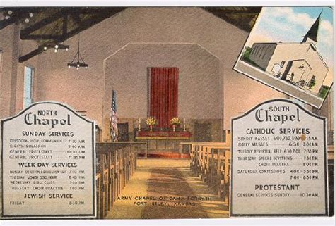 Army Chapel Welcomes All And Privileges None Military