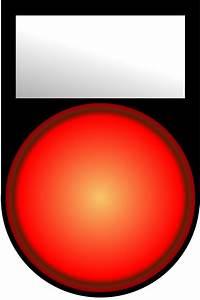 Voyant Volant Rouge : clipart voyant rouge allume red light on ~ Gottalentnigeria.com Avis de Voitures