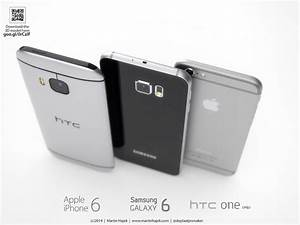 HTC One M9 Versus iPhone 6 and Galaxy S6: Battle of ...