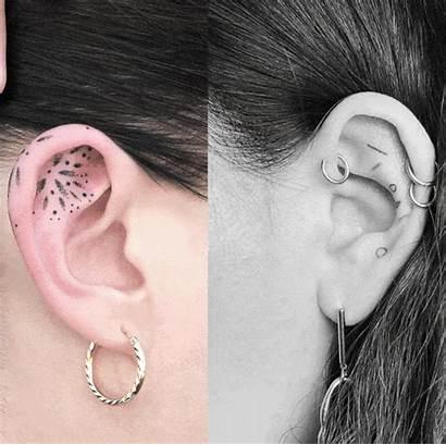 Ear Tattoos Tattoo Buyuyor Dovme Kulaga Hizla