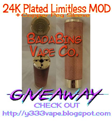 73335 Limitless Mod Co Coupon Code by The 24k Plated Sleeve Mod Giveaway
