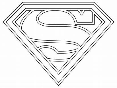 Superman Coloring Pages Printable Super Colouring Mask
