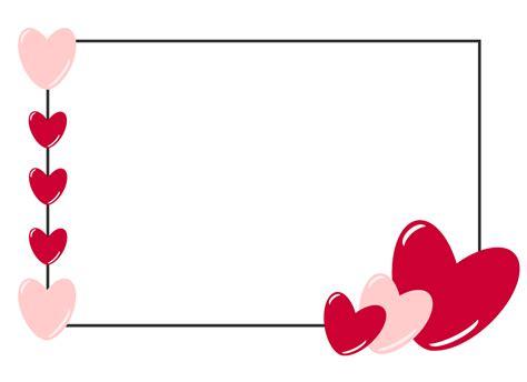 Free Valentine Border Template
