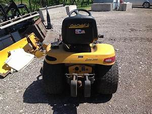 Cub Cadet Series 3000 Garden Tractor With Belly Mower
