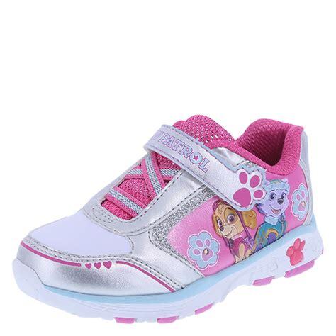 girls light up sandals paw patrol paw girls light up shoe payless