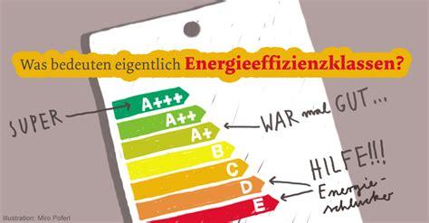 energieeffizienzklassen bedeuten energieeffizienz