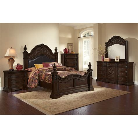 bedroom value city bedroom sets queen size bed with