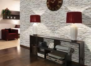 wohnzimmer steinwand grau steinwand im wohnzimmer wanddeko mit verblendsteinen