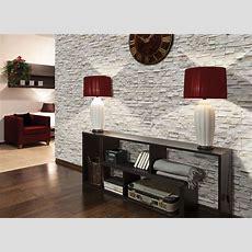 Startseite Design Bilder – Steinwand Im Wohnzimmer Wanddeko Mit ...