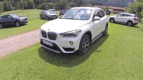 bmw x1 2015 presentation dimensions habitacle coffre