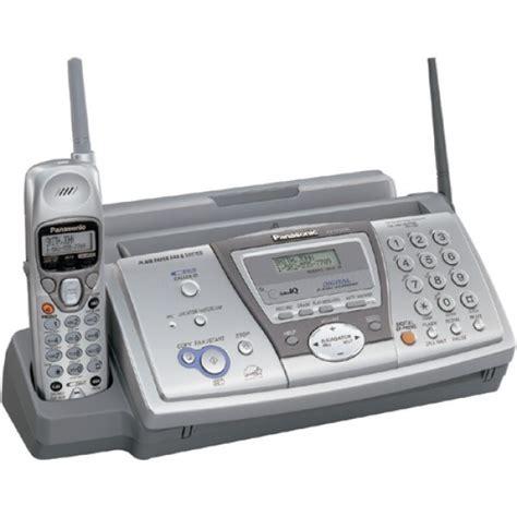 panasonic plain paper fax machine kx fp voltscom