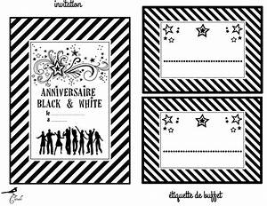 carte d39invitation d39anniversaire noir et blanc With choisir couleur de peinture 18 coloriage macon a imprimer gratuit