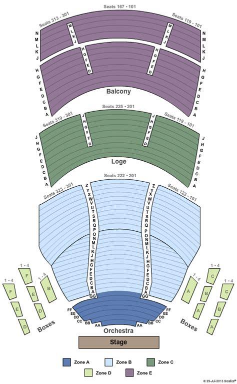 procter gamble hall aronoff center  seating chart