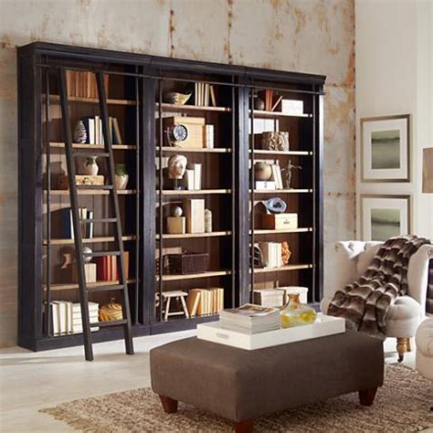 3 Foot High Bookcase by Toulouse Aged 6 Shelf Home Library 3 Bookcase Wall