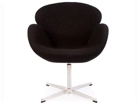 swan chair arne jacobsen black
