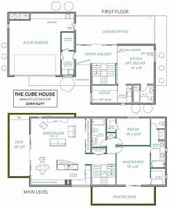 the cube house - ultra modern | floor plans for simmies ...
