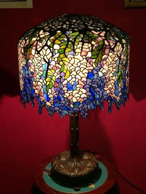 tiffany lampe wisteria cm durchmesser  cm hoch catawiki