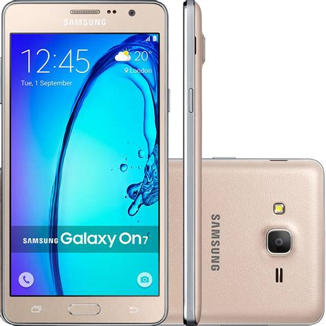 On Samsung Galaxy Smartphone Samsung Galaxy On 7 Dual Chip Americanas Com