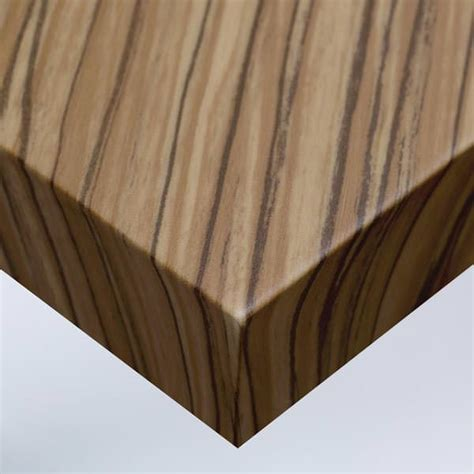 adhésif mur ou meuble teinté bois de zebrano naturel