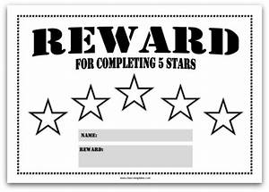 Colourful Reward Charts For Kids