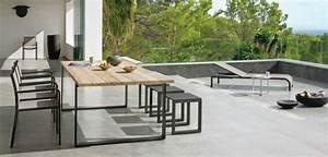 Mobilier Bois Design : mobilier exterieur metal design ~ Melissatoandfro.com Idées de Décoration
