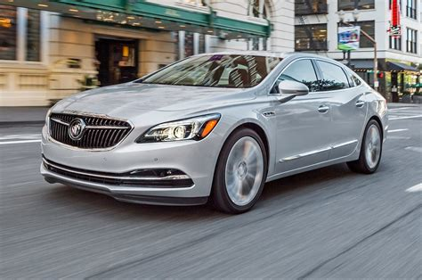 2017 buick lacrosse review to its strengths motor trend
