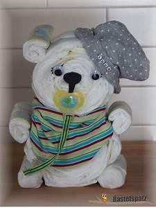 Windelbr Mit Name Diaper Cake Baby Shower Babyshower