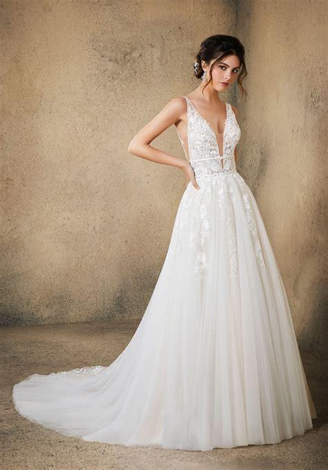rosa wedding dress style  morilee