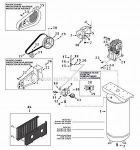 Campbell Hausfeld Vt627504aj Parts List And Diagram