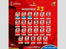Spain World Cup 2018 Squad Confirmed