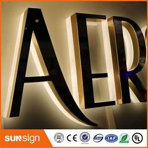 popular backlit sign letters buy cheap backlit sign With 3d sign letters wholesale