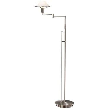 Holtkoetter Floor L 9434 by Aging Eye Glass Shade Swing Arm Floor L By Holtkoetter