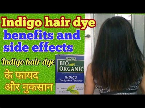 Benefits Of Hair Color by Indigo Hair Dye Ke Fayde Aur Nuksan Indigo Hair Dye