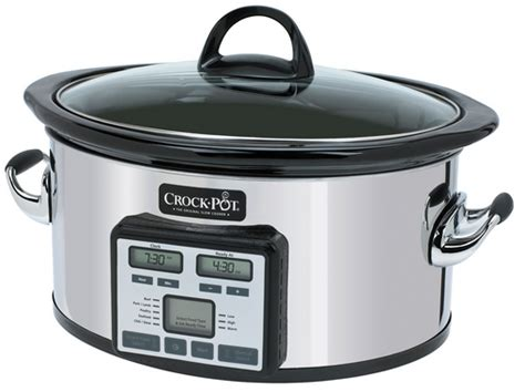 crock pot the original cooker crock pot cooker with smart cook technology 69 99 with free shipping saving the family money